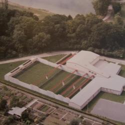 Vue aérienne du club