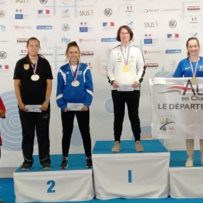 Cdf 50m 2018 chateauroux podium 3x20