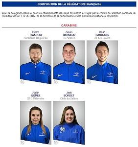 Delegation champ europe 1
