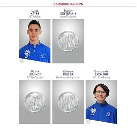 Delegation champ europe junior 1