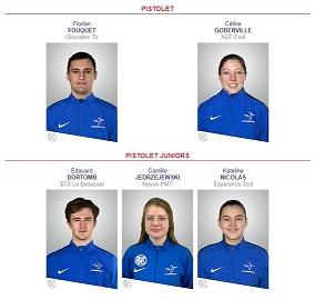 Delegation champ europe pistoelt 1